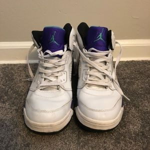 "Retro Jordan 5 ""grape"""